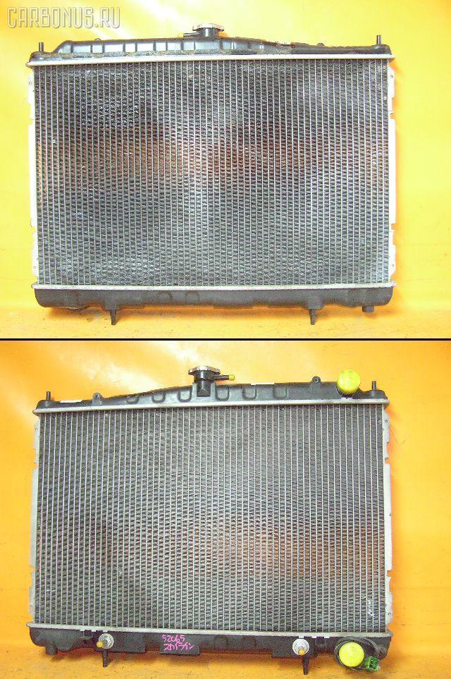 Радиатор ДВС NISSAN SKYLINE ECR33 RB25DE. Фото 1