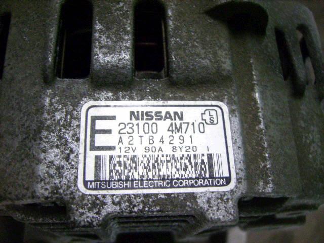 Генератор NISSAN TINO V10 QG18DE. Фото 2