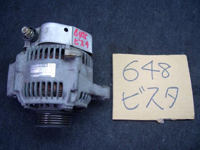 Генератор TOYOTA VISTA SV40 4S-FE. Фото 4