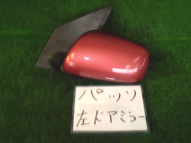 Зеркало двери боковой TOYOTA PASSO KGC10. Фото 5