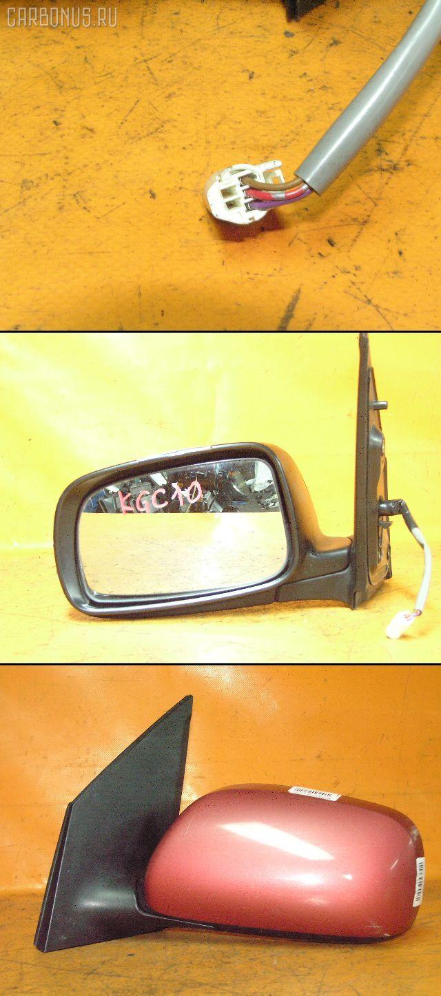 Зеркало двери боковой TOYOTA PASSO KGC10. Фото 3