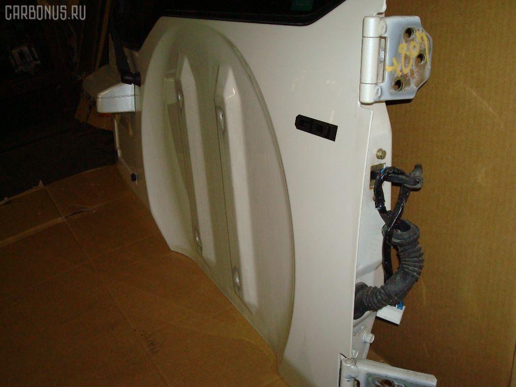 Дверь задняя MITSUBISHI PAJERO IO H76W. Фото 4