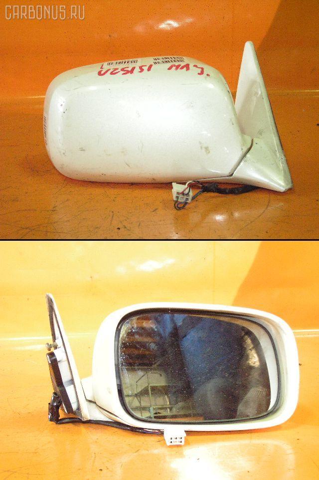 Зеркало двери боковой TOYOTA CROWN MAJESTA UZS151. Фото 1