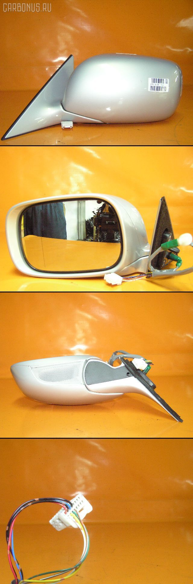 Зеркало двери боковой TOYOTA CROWN GRS180. Фото 1