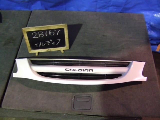 Решетка радиатора TOYOTA CALDINA ST210G. Фото 4