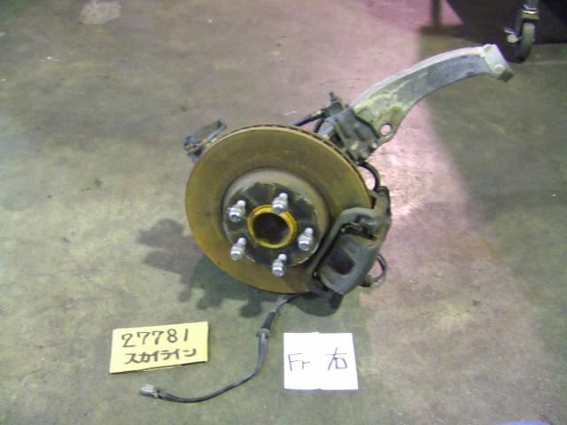Ступица NISSAN SKYLINE V35 VQ25DD. Фото 3