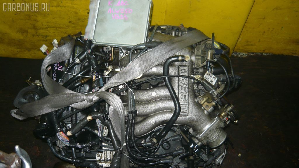 Двигатель NISSAN ELGRAND ALWE50 VG33E. Фото 1