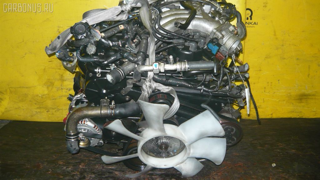 Двигатель NISSAN ELGRAND ALWE50 VG33E. Фото 2