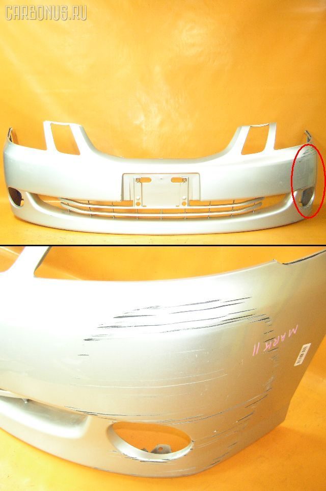Бампер TOYOTA MARK II BLIT GX110W. Фото 1