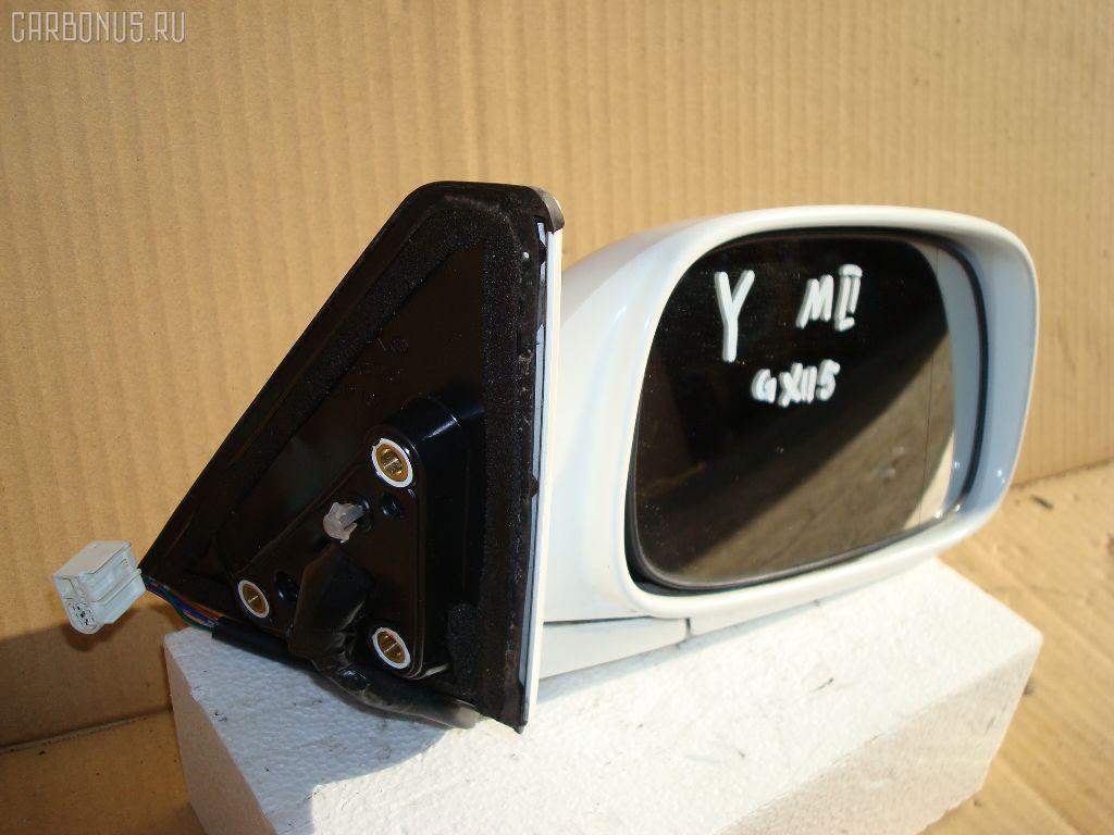 Зеркало двери боковой TOYOTA MARK II GX115. Фото 2