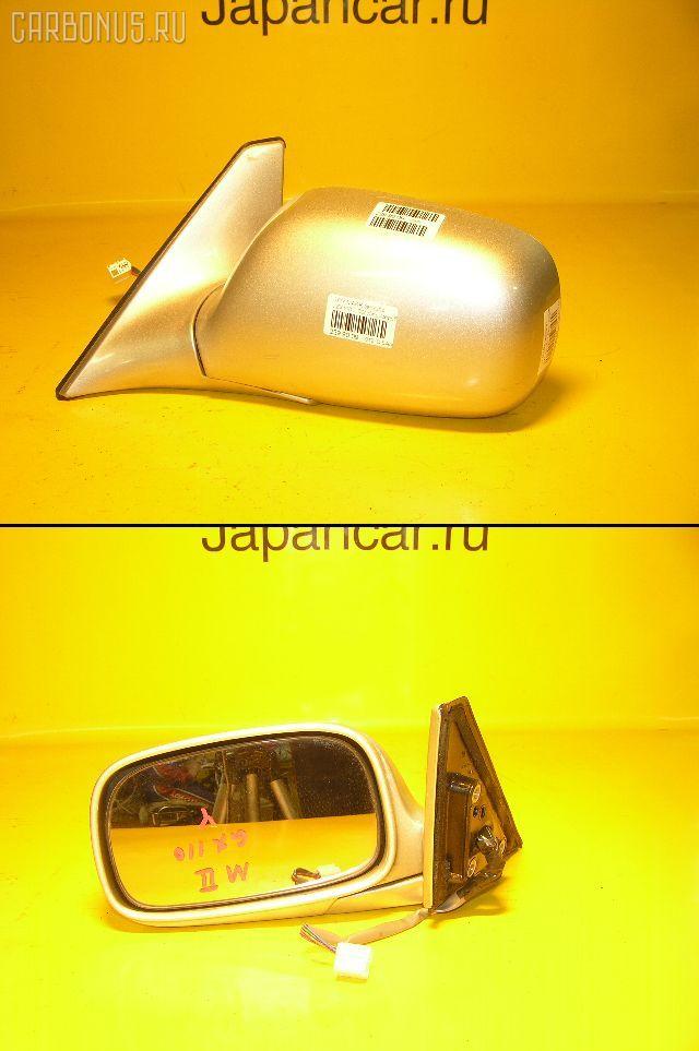 Зеркало двери боковой TOYOTA MARK II JZX110. Фото 1
