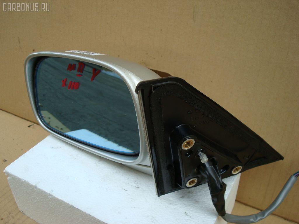 Зеркало двери боковой TOYOTA MARK II JZX110. Фото 5