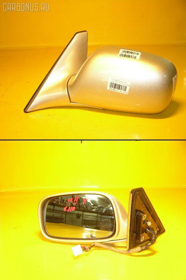Зеркало двери боковой TOYOTA MARK II JZX110. Фото 4
