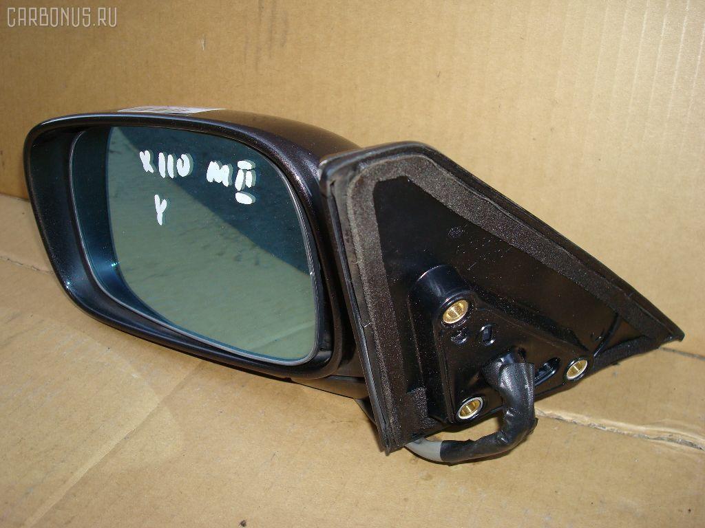 Зеркало двери боковой TOYOTA MARK II JZX110. Фото 11