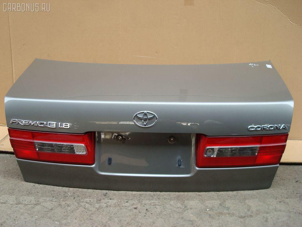 Крышка багажника TOYOTA CORONA PREMIO AT210. Фото 3