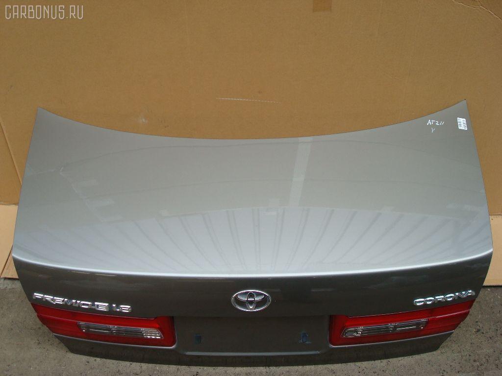Крышка багажника TOYOTA CORONA PREMIO AT210. Фото 4
