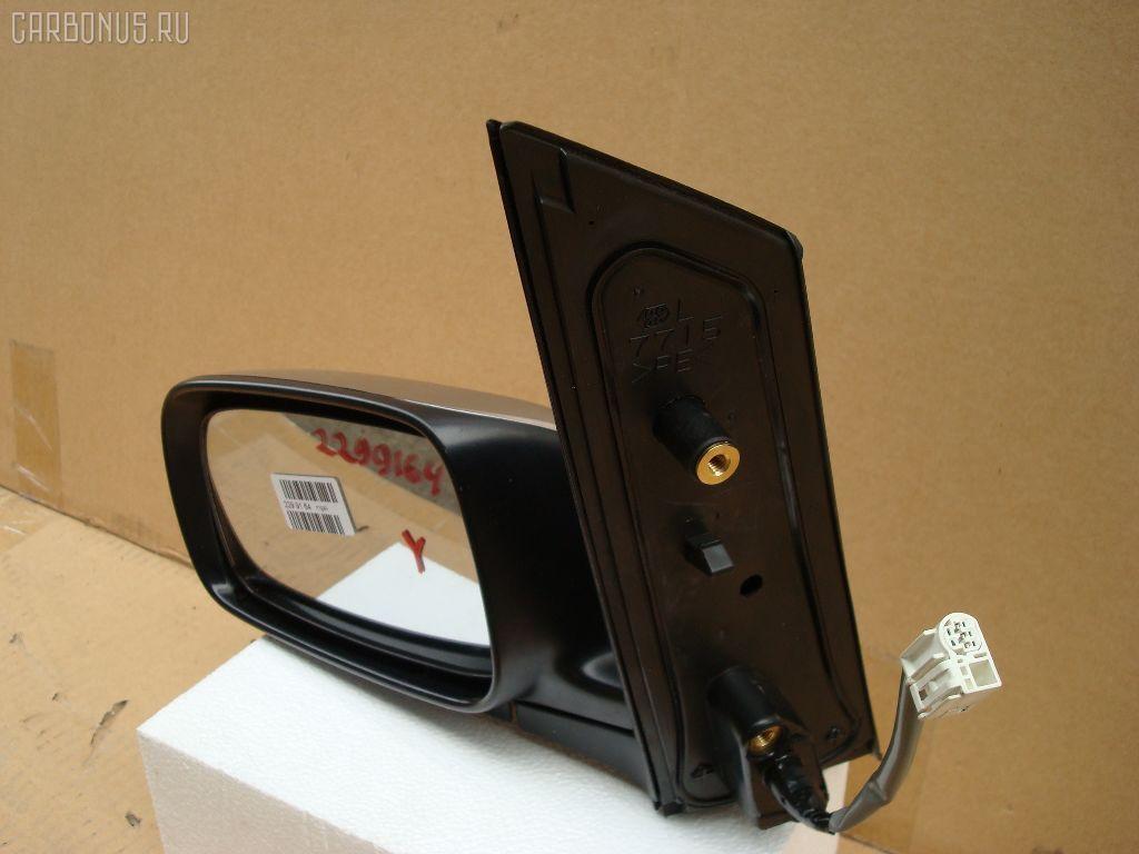 Зеркало двери боковой TOYOTA WISH ZNE10G. Фото 2