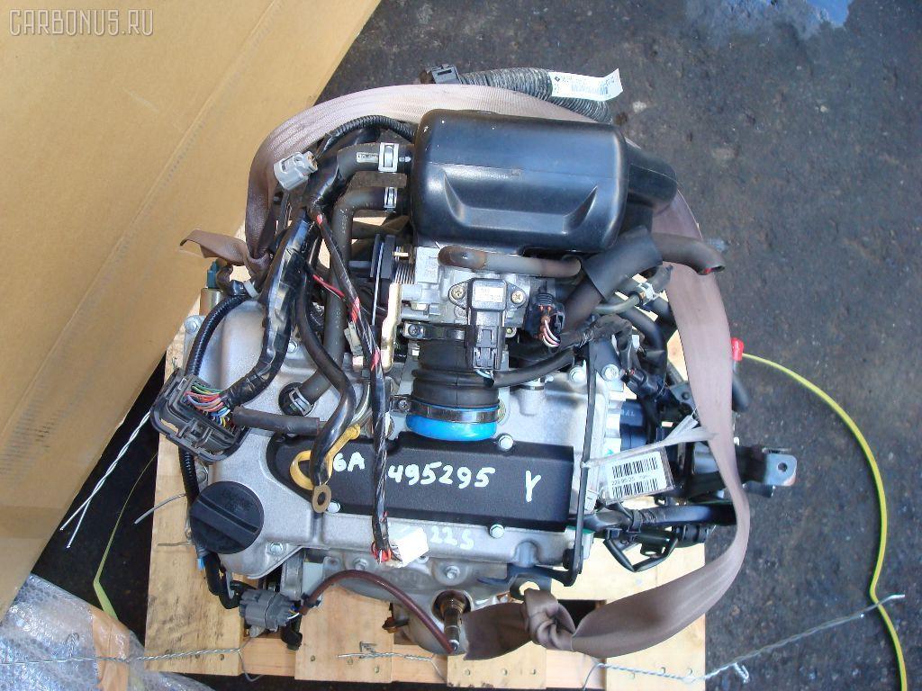 Двигатель NISSAN MOCO MG22S K6A. Фото 2