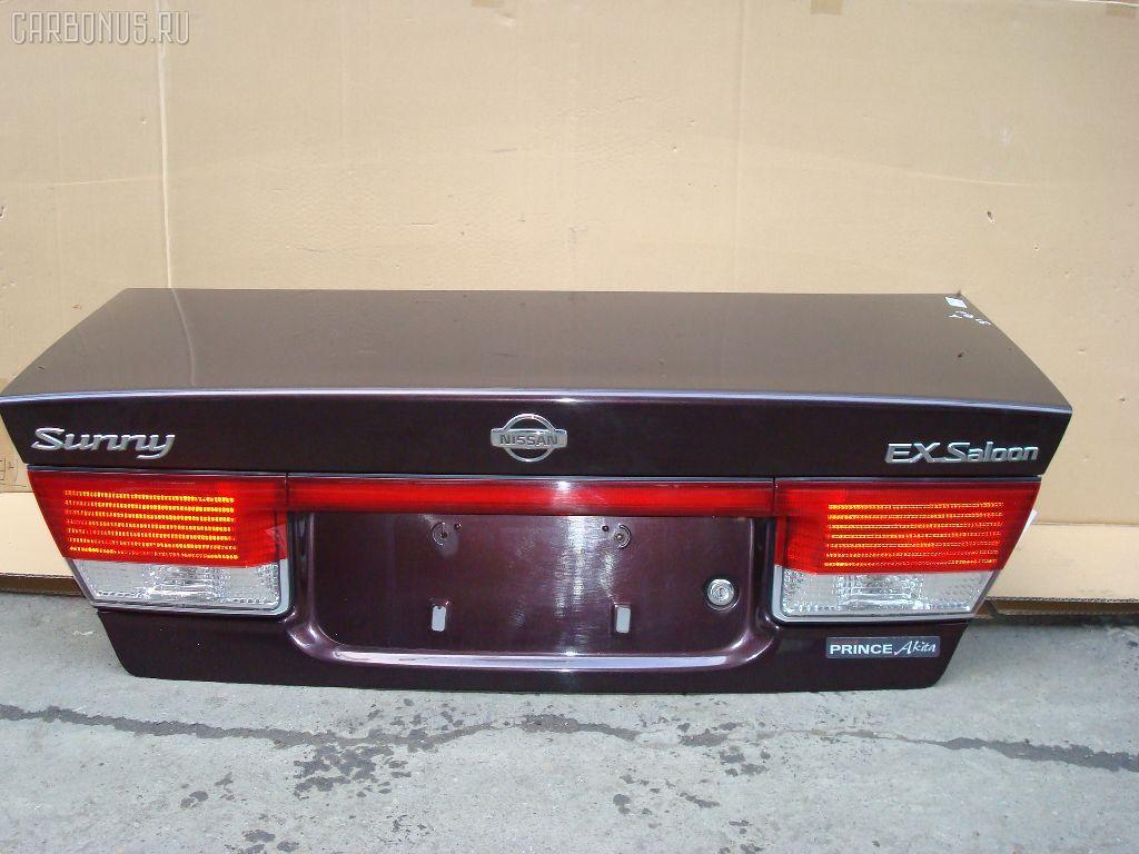 Крышка багажника NISSAN SUNNY FB15. Фото 8