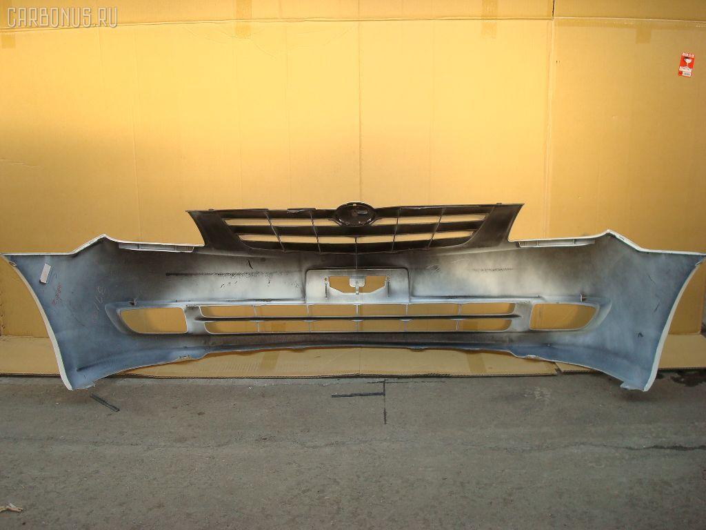 Бампер TOYOTA COROLLA SPACIO NZE121N. Фото 8