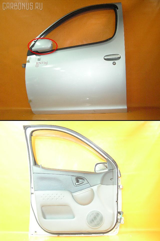 Дверь боковая TOYOTA FUNCARGO NCP20. Фото 1