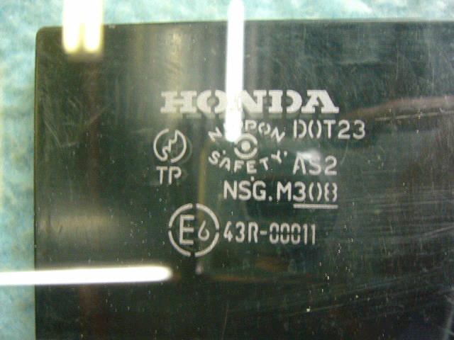 Стекло HONDA FIT GD1. Фото 1