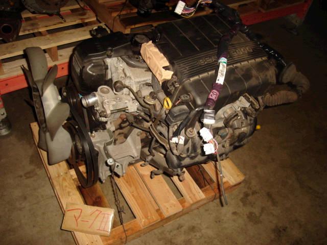 Двигатель TOYOTA CRESTA GX100 1G-FE. Фото 3