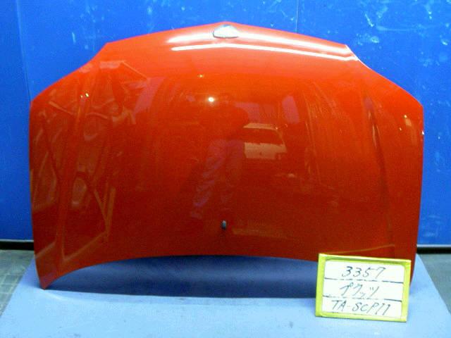 Капот TOYOTA PLATZ SCP11. Фото 3