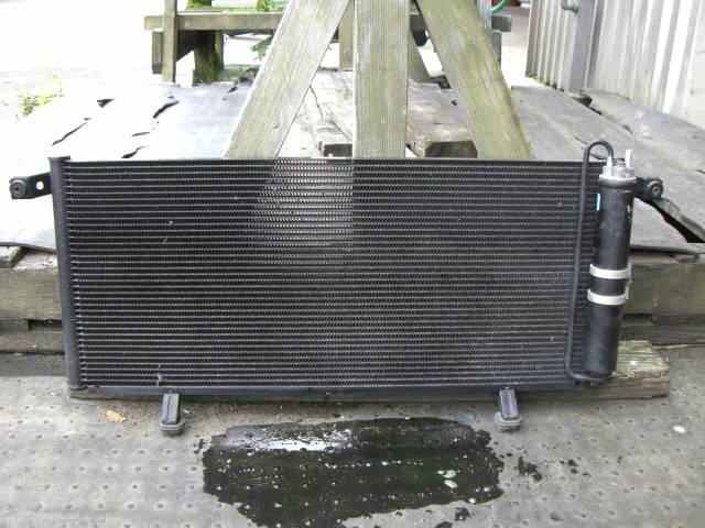 Радиатор кондиционера MITSUBISHI PAJERO IO H66W 4G93. Фото 3