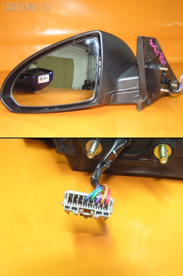 Зеркало двери боковой NISSAN WINGROAD WFY11. Фото 3