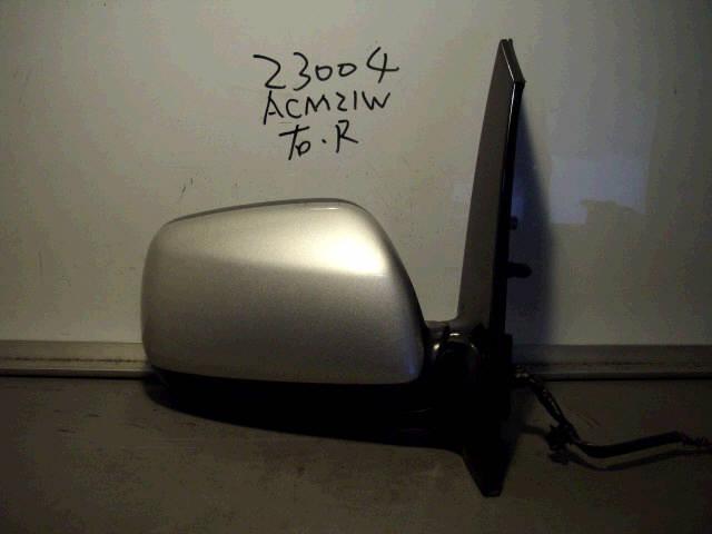 Зеркало двери боковой TOYOTA IPSUM ACM21W. Фото 3