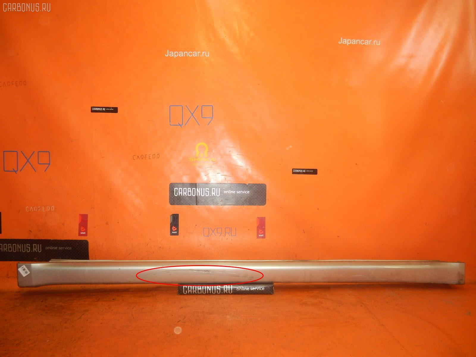 Порог кузова пластиковый ( обвес ) SUBARU LEGACY WAGON BP5. Фото 4