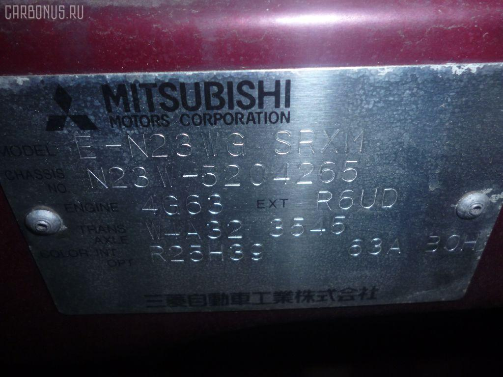 Балка под ДВС MITSUBISHI RVR SPORTS GEAR N23WG 4G63 Фото 2
