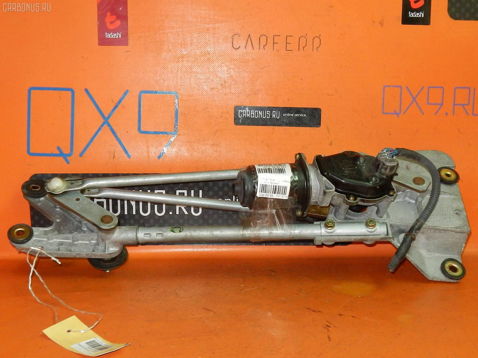 Мотор привода дворников NISSAN X-TRAIL NT30. Фото 1