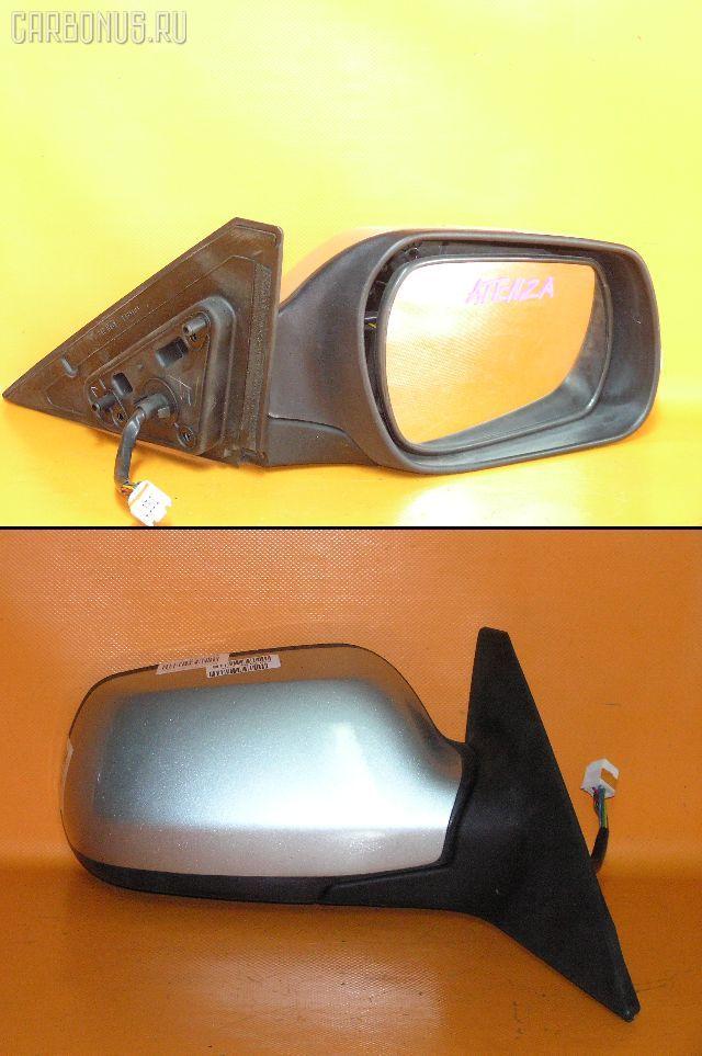 Зеркало двери боковой MAZDA ATENZA SPORT WAGON GY3W. Фото 3