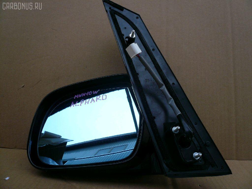 Зеркало двери боковой TOYOTA ALPHARD MNH10W. Фото 2