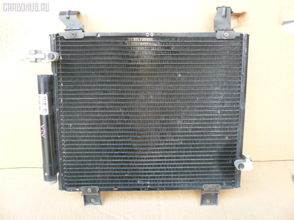 Радиатор кондиционера DAIHATSU YRV M201G K3-VE. Фото 3
