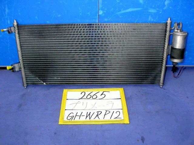 Радиатор кондиционера NISSAN PRIMERA WAGON WRP12 QR25DD. Фото 2
