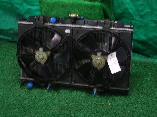 Радиатор ДВС NISSAN WINGROAD WFY11 QG15DE. Фото 3