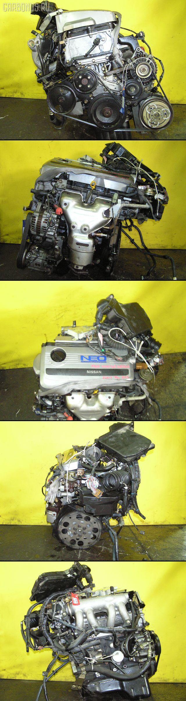 Двигатель NISSAN SUNNY FB15 QG15DE. Фото 1