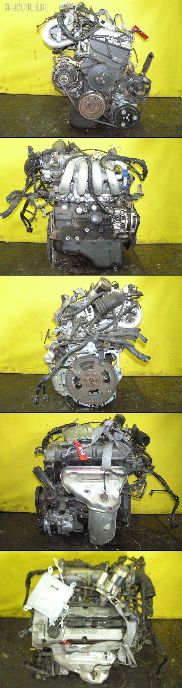 Двигатель MAZDA FAMILIA S-WAGON BJ5W ZL. Фото 1
