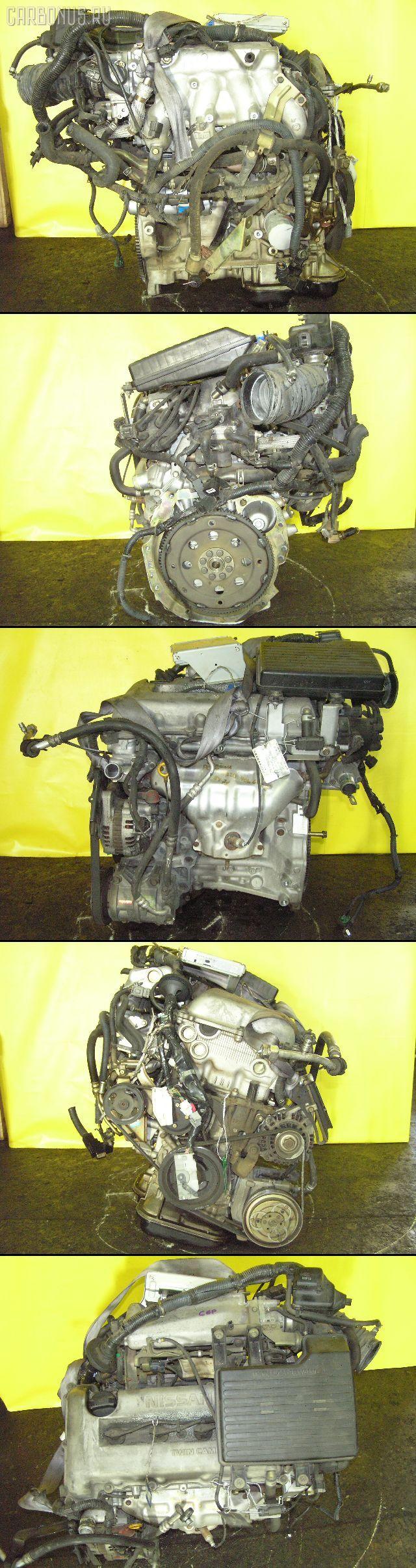 Двигатель NISSAN SERENA PC24 SR20DE. Фото 1