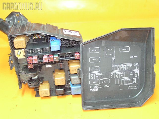Блок предохранителей NISSAN GLORIA MY34 VQ25DD. Фото 2