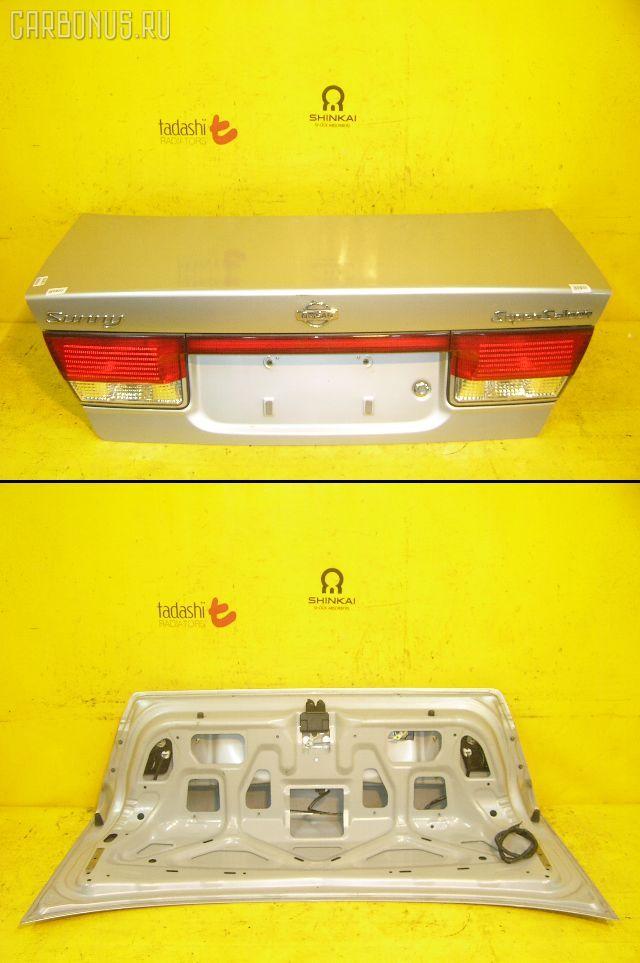 Крышка багажника NISSAN SUNNY FB15. Фото 10