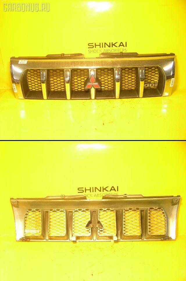 Решетка радиатора MITSUBISHI PAJERO IO H76W. Фото 5