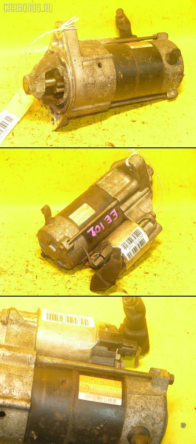 Стартер TOYOTA COROLLA EE101 4E-FE. Фото 4