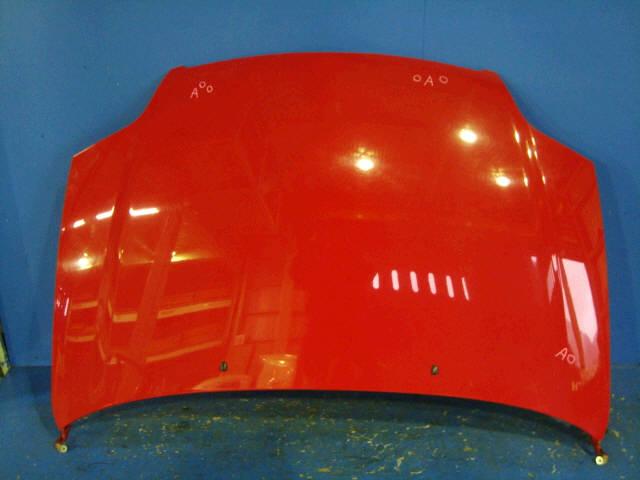 Капот TOYOTA COROLLA FIELDER NZE121G. Фото 9