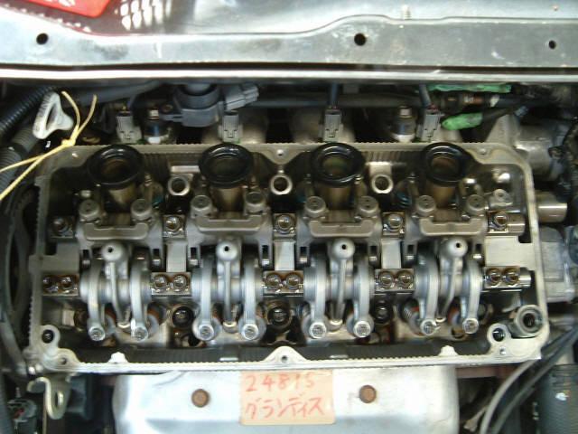 Двигатель MITSUBISHI GRANDIS NA4W 4G69. Фото 3