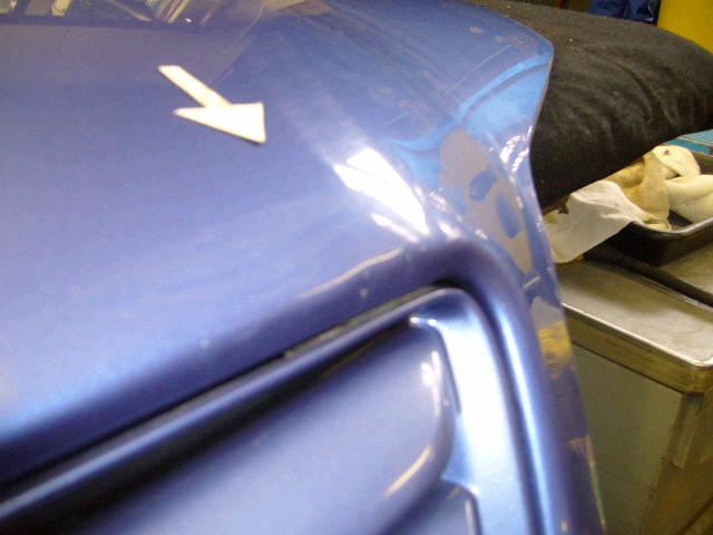 Капот TOYOTA IPSUM SXM10G. Фото 1