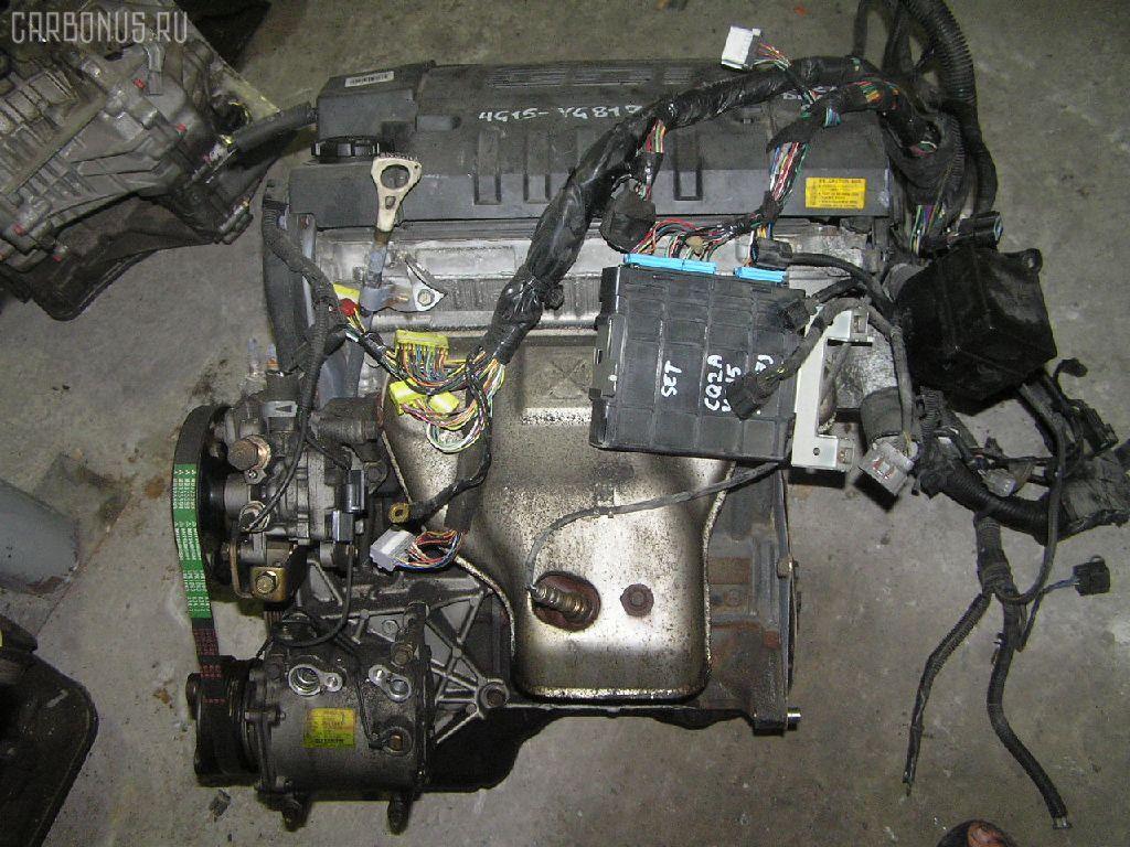 Двигатель MITSUBISHI DINGO CQ2A 4G15. Фото 1